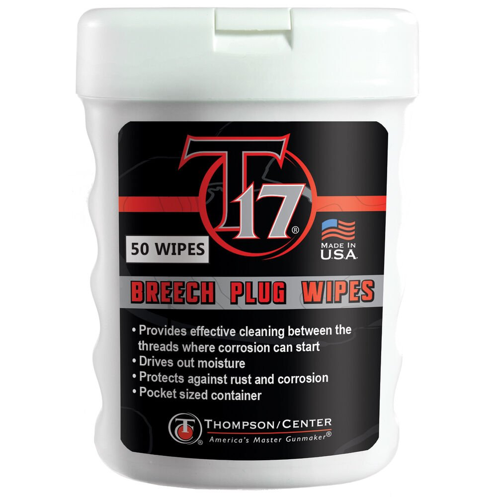 T17 Breech Plug Wipes (50 Count)