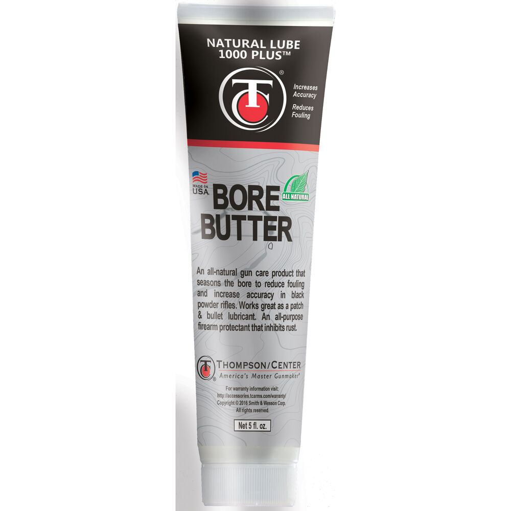 Natural Lube 1000 Plus Bore Butter in a Tube, Patch Lube and Overall Protectant, 5 oz. Tube